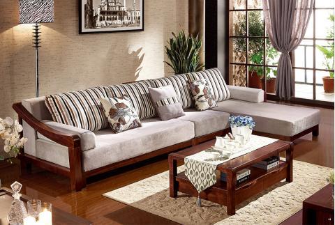 森匠橡胶木沙发