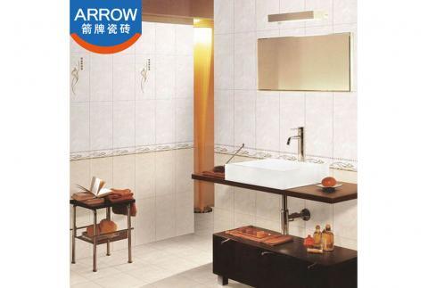 【箭牌瓷砖】厨房卫生间地面砖地板砖 亚光防滑耐磨西米黄小地砖 AD30613