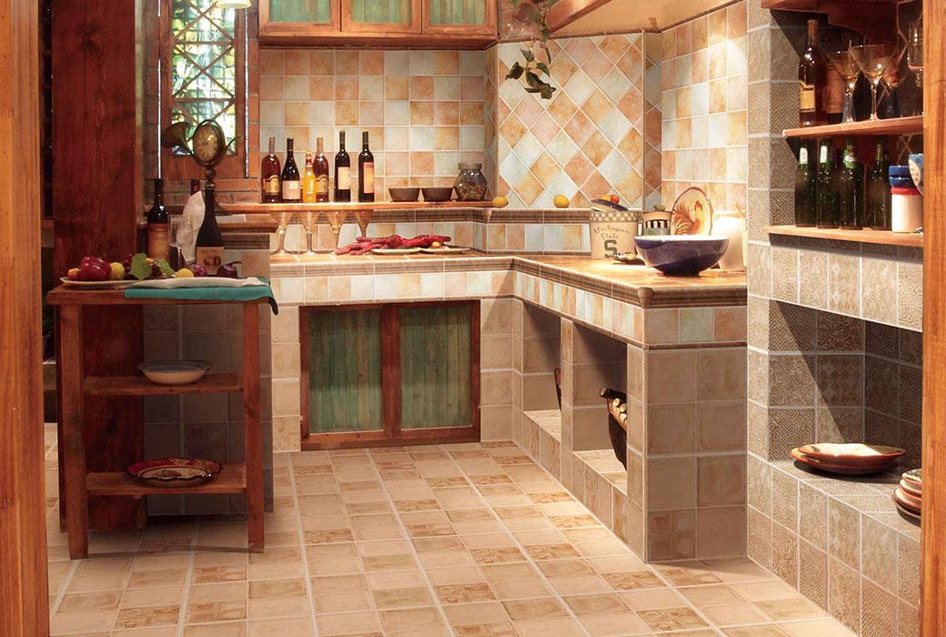 【蒙娜丽莎瓷砖】1506复古系列小地砖3FVN0002M 300X300MM