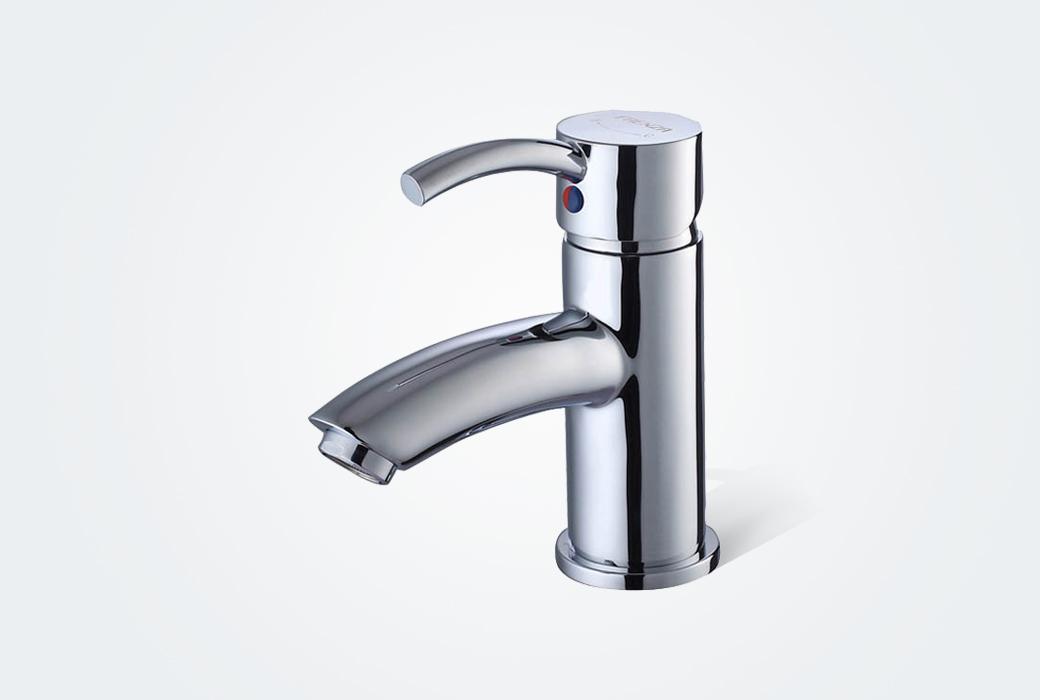 【法恩莎】面盆洗手池龙头 冷热水柜盆龙头 F1A1111C