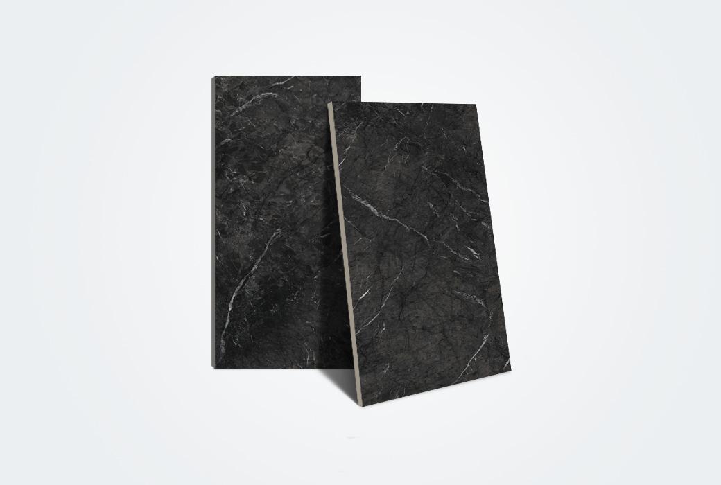 【马可波罗瓷砖】2018年新款真石黑晶玉系列地墙砖900*1800 CS18039AS