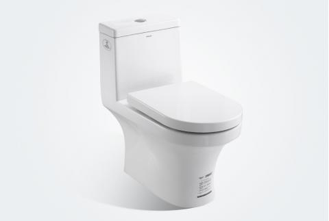 【法恩莎】抗菌环保脲醛盖板 优质缓冲降马桶FB-1652L
