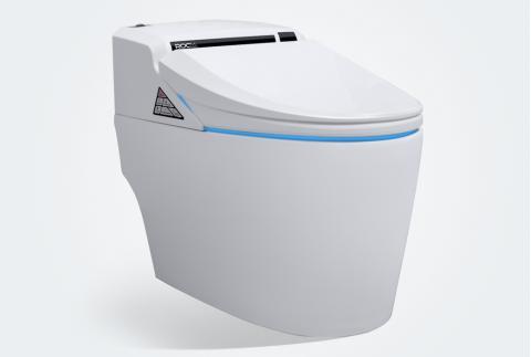 【立家卫浴】即热式断电保护自动冲洗智能马桶座便器一体机RMJ6906