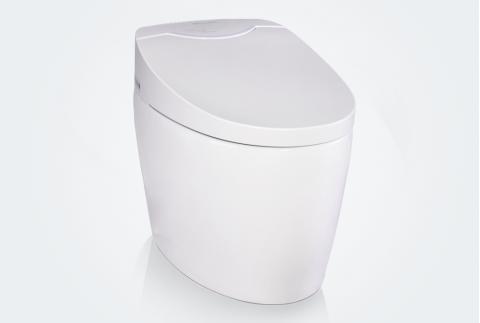 【立家卫浴】RMJ6901 即热式断电保护自动冲洗智能马桶座便器一体机RMJ6901