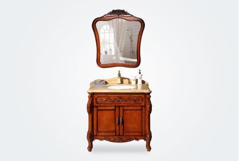 唐彩卫浴,浴室柜,TC39135-9,实木,华耐家居商城