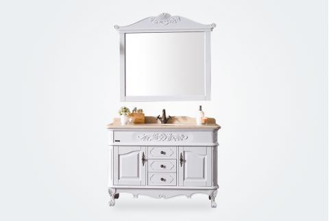 立家卫浴,浴室柜,91001-12,橡胶木,华耐家居商城
