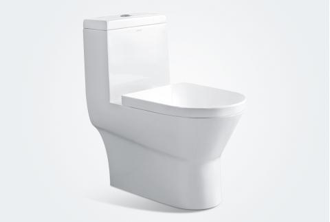 【箭牌卫浴】 现代简约 脲醛树脂盖板连体马桶 AB1282MD