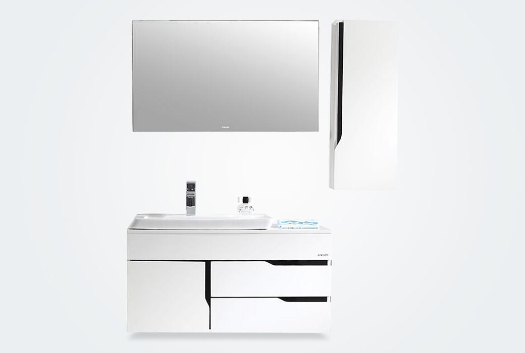 【法恩莎】 简约现代 挂墙式浴室柜FPG4680C-A