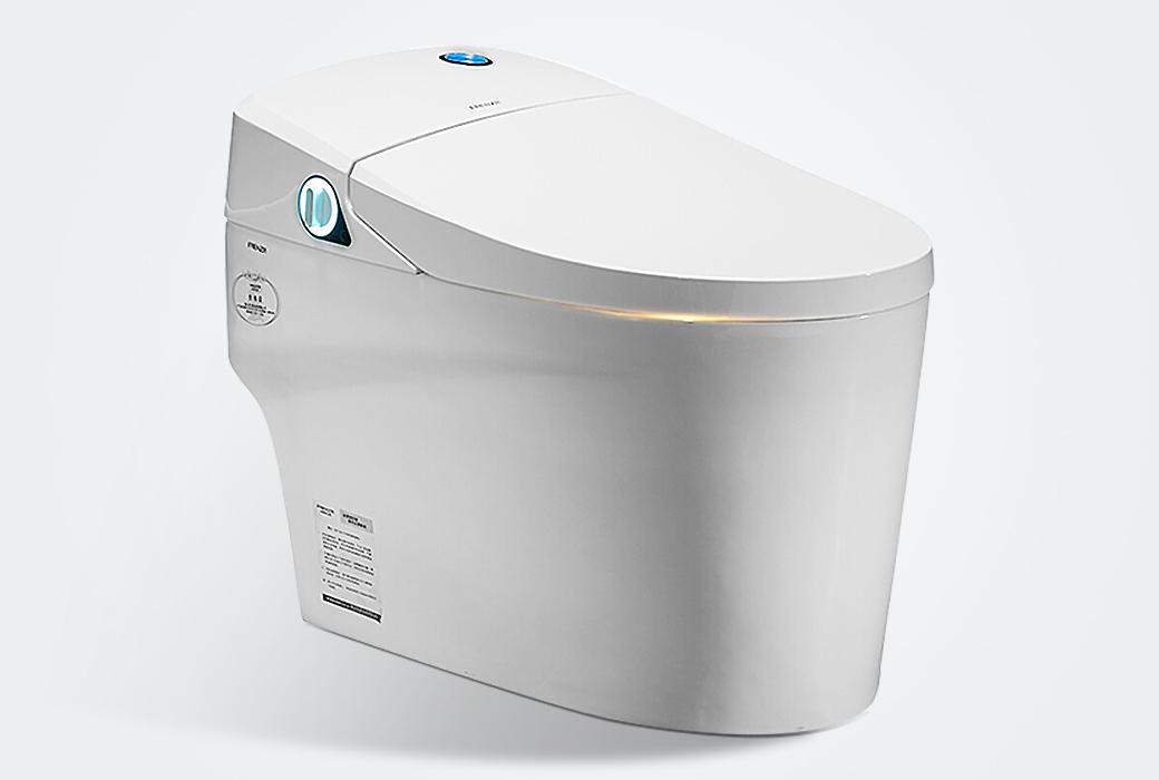 【法恩莎】一体智能马桶坐便器 自动冲水暖风烘干座圈加热FB16165M 300mm坑距