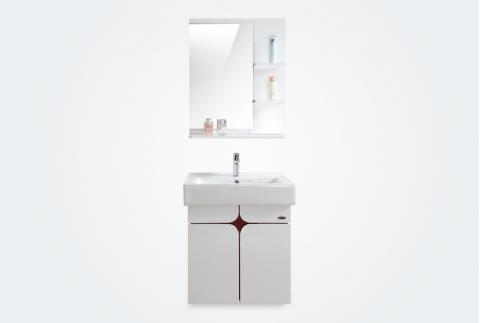 【箭牌卫浴】时尚简约现代PVC板材浴室柜套装单孔龙头 APG6G349AP