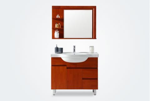 箭牌卫浴,浴室柜,APGM10L352B-0,进口橡胶木,华耐家居商城