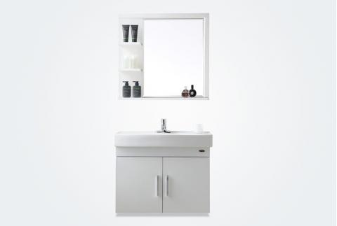 【箭牌卫浴】简约现代 实木防水防开裂挂墙式浴室柜 AEM7G348