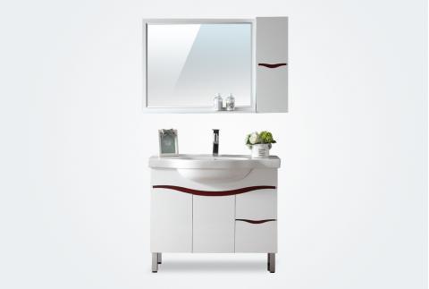 【箭牌卫浴】 现代风格 落地式组合PVC浴室柜 AE2103