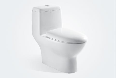【箭牌卫浴】 现代简约 喷射虹吸式连体马桶AB1218SD