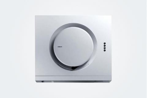 【Robam/老板】 17.5立方大吸力侧吸式白色小尺寸近吸抽油烟机  5106