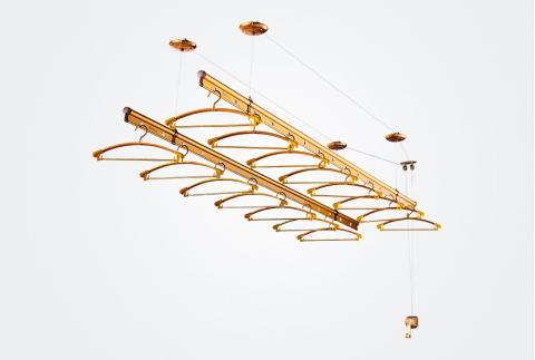 卡贝,生活用品,911G-2.0米(金色),铝,华耐家居商城