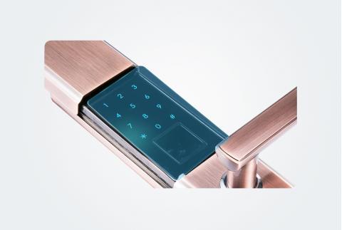 凯迪仕(KAADAS) 指纹锁 8010 智能锁密码锁家用防盗门锁 防盗门密码锁 电子密码锁