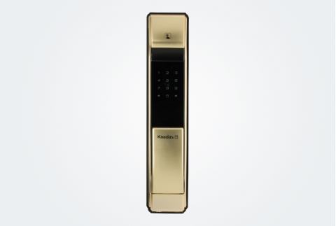 凯迪仕(KAADAS) 指纹锁 K7 密码锁智能锁防盗门锁 家用防盗门锁 电子密码锁 珍珠金