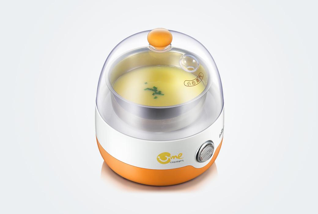 【小熊電器】煮蛋器 單層家用 自動斷電迷你蒸蛋器 ZDQ-2201(積分商城)