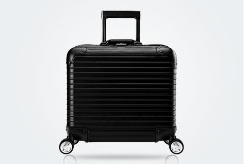【網易嚴選】17寸 全鋁鎂合金登機箱 經典黑 1533066