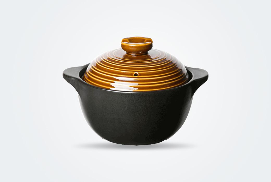 【網易嚴選】拾光系列陶瓷煲 2.2L淺湯煲 1727421