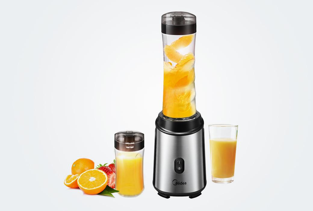 【美的電器】料理機隨行杯便攜式雙杯 多功能家用食品級材質可榨汁攪拌機MJ-WBL2501A