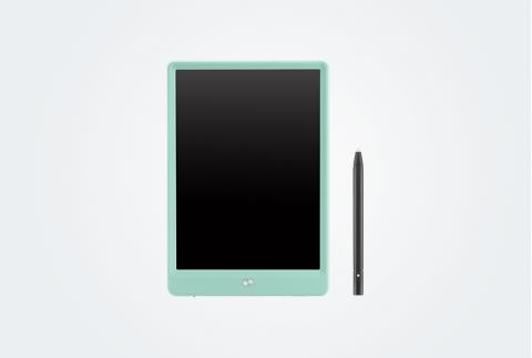 【網易嚴選】兒童液晶創意涂鴉畫板 含筆 綠色3666064