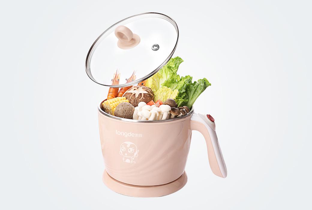 【龍的】多功能電煮鍋LD-ZG1206