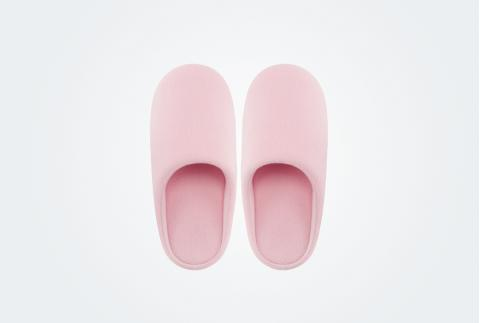 【網易嚴選】日式和風居家拖鞋 粉色*女L(39-40)300034027