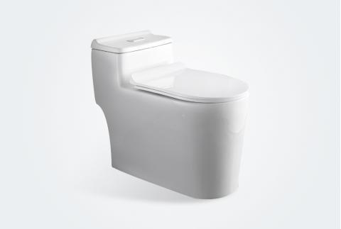 卡貝抽水馬桶家用衛生間節水坐便器防臭虹吸式普通座便器 ZBQ6002(400坑距)