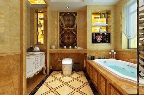 法式簡約-衛浴設計 塞納明珠(箭牌衛浴空間包)