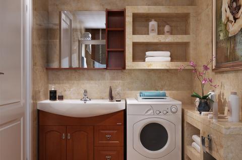 美式风格-卫浴设计 油彩芳华(法恩莎卫浴空间包)