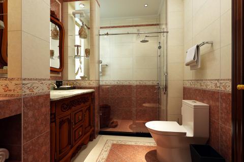 欧式简约-卫浴设计 温馨舒适(箭牌卫浴空间包)