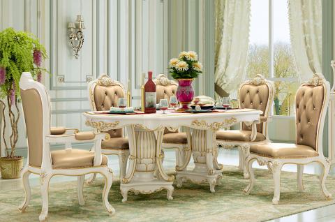 法式風格-餐廳設計 把家玩出浪漫(玫瑰莊園)