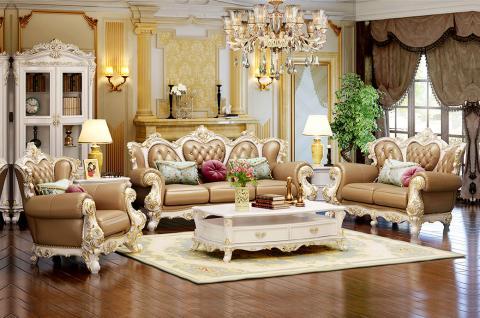 法式风格-客厅设计 把家玩出浪漫(玫瑰庄园)