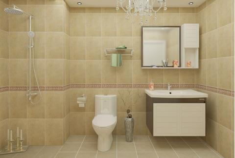 现代风格-卫浴设计 童话世界(箭牌卫浴+马可波罗瓷砖)