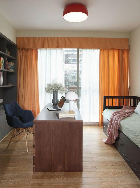 一见倾心的美宅 清新美式混搭139㎡ 卧室