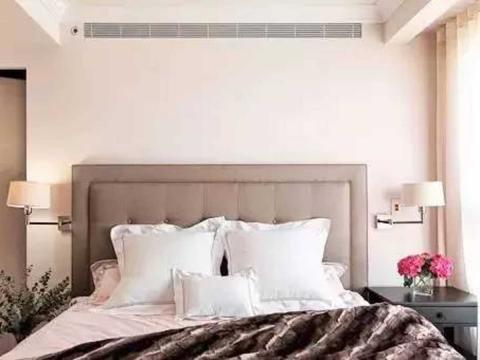 温馨典雅的质感美居,简约美式风110㎡ 卧室