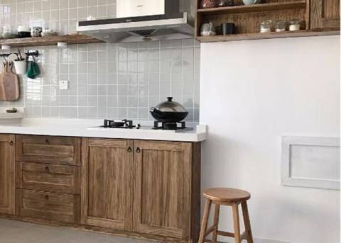 日式+北欧,环保舒适、造价低,颠覆性改造130㎡ 餐厅