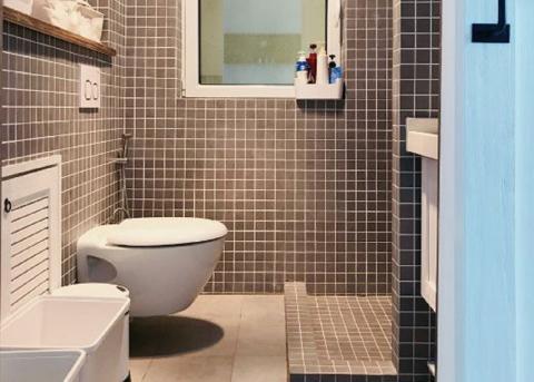 日式+北欧,环保舒适、造价低,颠覆性改造130㎡ 卫生间