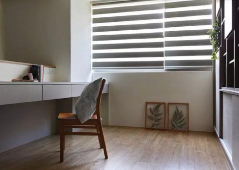 无比惊艳的简约,却装出了奢华感的89㎡ 卧室