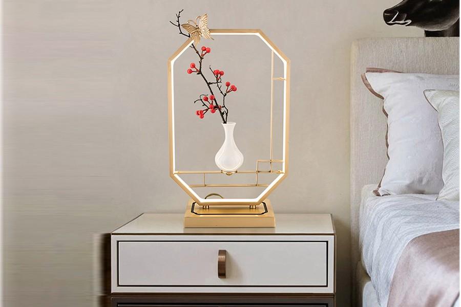爵士藍調 新中式風格 客廳餐廳臥室臺燈